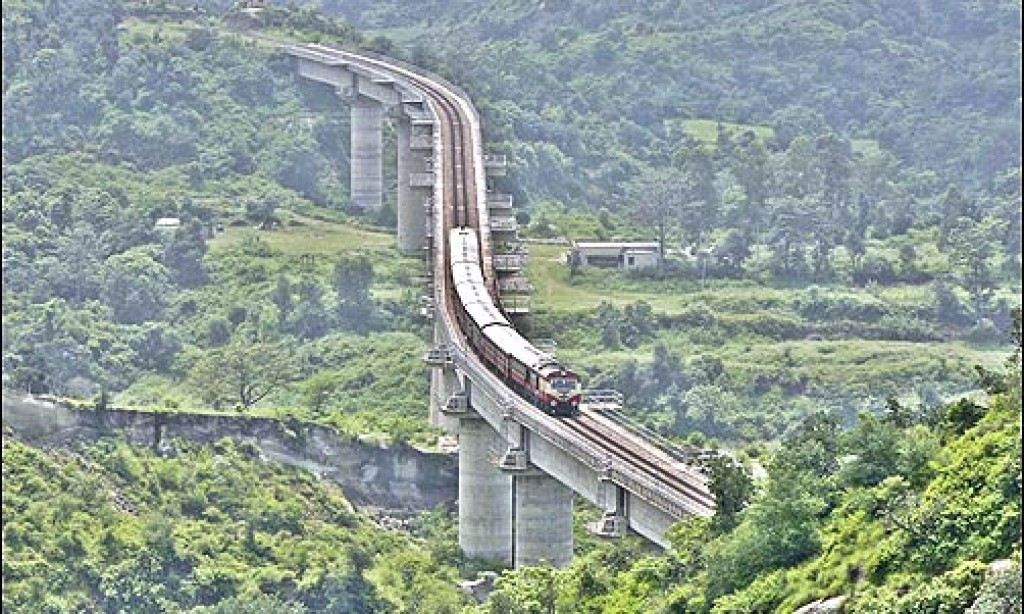 रेल लाइन