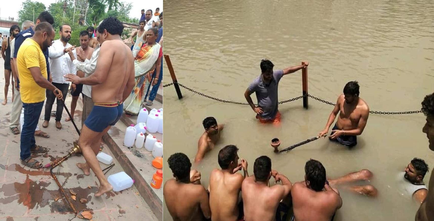 Image result for ऋषिकेश : गंगा की गोद में हुक्का-मदिरा पान करते बाहरी युवक, सरकार सुस्त पुलिस चुप